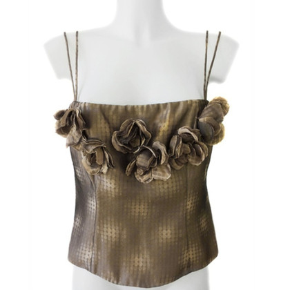 Armani Collezioni Top with flowers