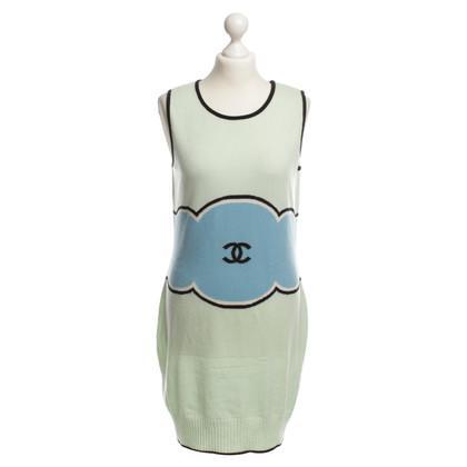Chanel Kaschmirkleid in Bunt