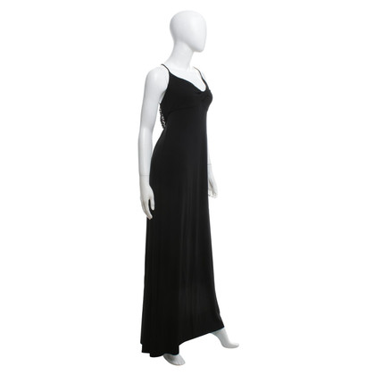 Céline Langes Abendkleid in Schwarz