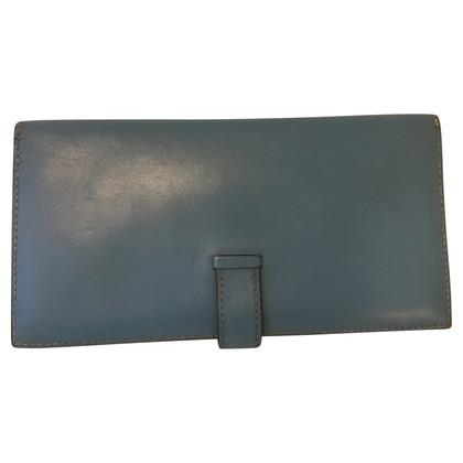 Hermès Blue Wallet