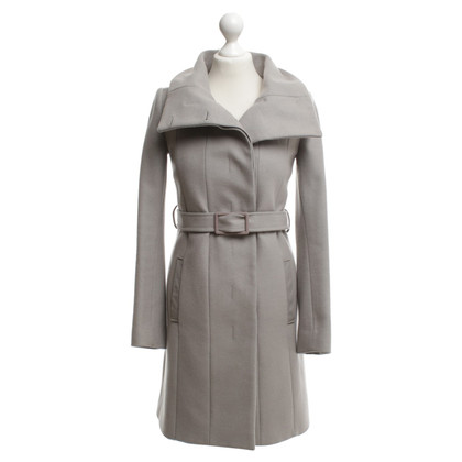 Patrizia Pepe Wollen jas in Taupe