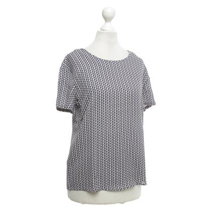 Closed Gedessineerd T-shirt gemaakt van zijde
