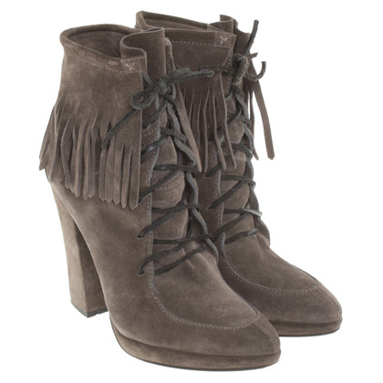 Giuseppe Zanotti Ankle boots from suede