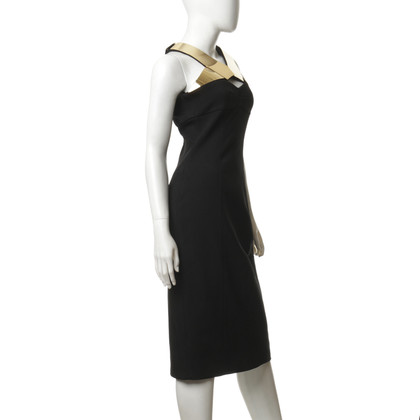 Burberry Prorsum Kleid mit Metallic-Besatz
