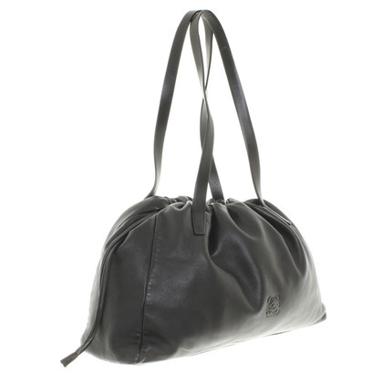 Loewe Black handbag made of smooth leather