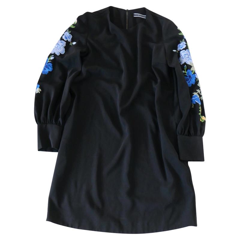 Sportmax blaues jerseykleid