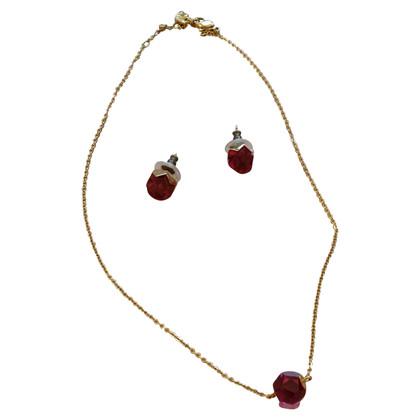 Swarovski Halskette & Ohrringe