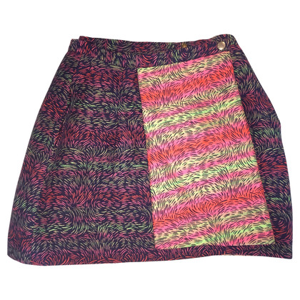 Kenzo Trendy wrap skirt with pattern