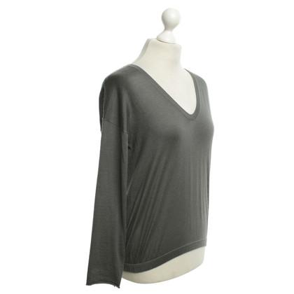 Brunello Cucinelli Top in grigio