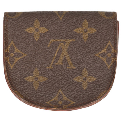 "Louis Vuitton ""Gousset Wallet Monogram Canvas"""