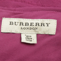 Burberry Silk dress in lilac