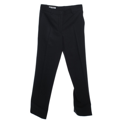 Jil Sander Wool trousers with creases