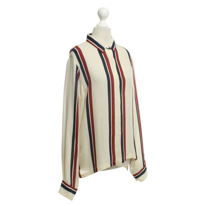 Dries van Noten Blouse with striped pattern