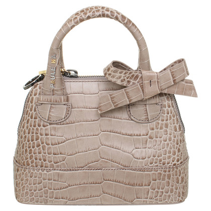 Paule Ka Shoulder bag in Taupe