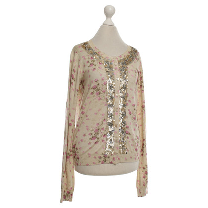 Twin-Set Simona Barbieri Strickjacke mit floralem Print