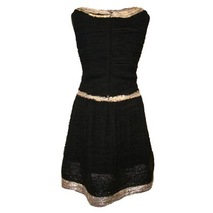 Oscar de la Renta Silk Chiffon Dress