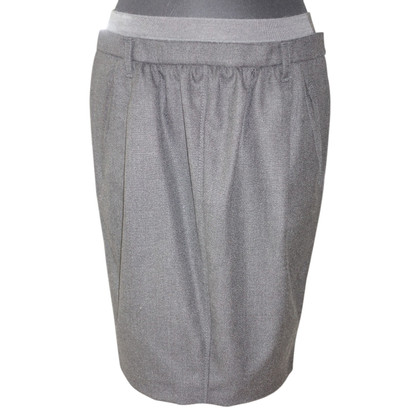 Gunex Woolen skirt anthracite