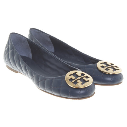 Tory Burch Ballerina's in blauw