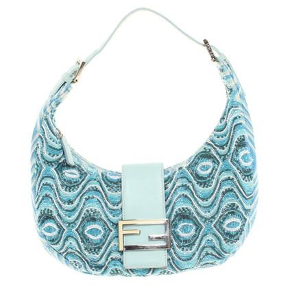 Fendi Handtasche mit Perlenbesatz