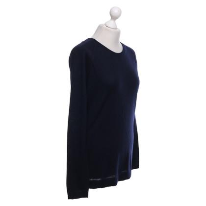 Strenesse Fine knit top in dark blue