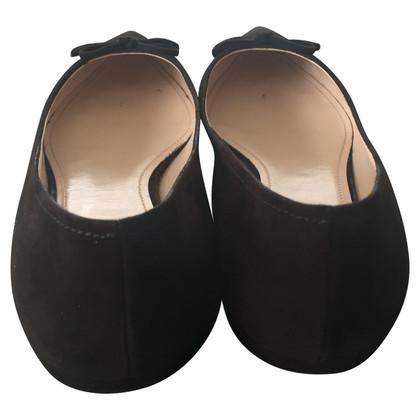 Prada Ballerinas aus Wildleder