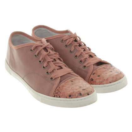 Lanvin Sneakers with reptile