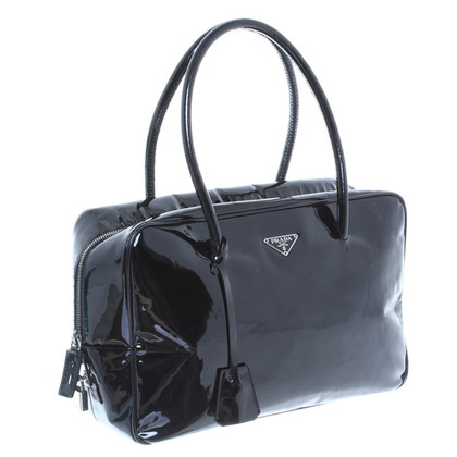 Prada Lackleder-Handtasche