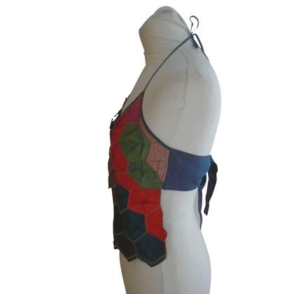 Kenzo Halter top in silk