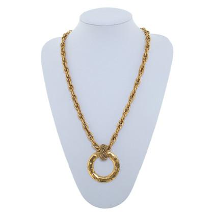 Chanel Goldfarbene Kette