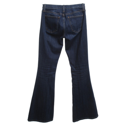 Current Elliott Skinny Jeans in Blauw