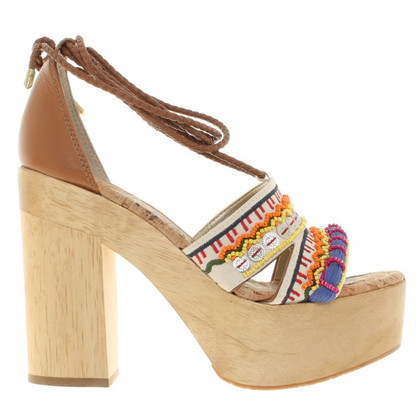 Other Designer Sam Edelman - Sandals with wooden heel
