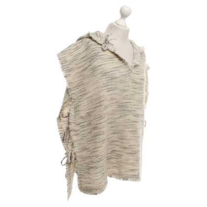 Isabel Marant Poncho in crème Heather