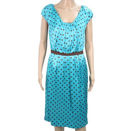 L.K. Bennett zijden jurk met patroon