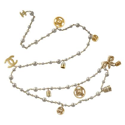 Chanel Cintura Catena con perle