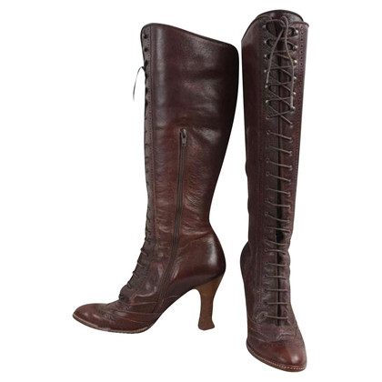 Dolce & Gabbana Brown leather boots