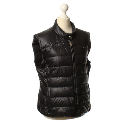 Prada Quilted vest in black