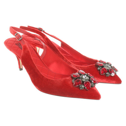 Dolce & Gabbana Sling-pumps in red