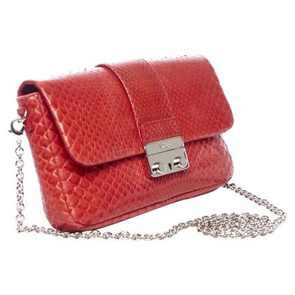 Christian Dior Shoulder bag made of python leather