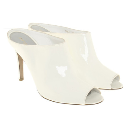 Sergio Rossi Peep-toes in white