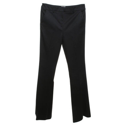 Reiss trousers in black