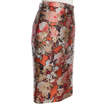 Givenchy skirt with floral pattern