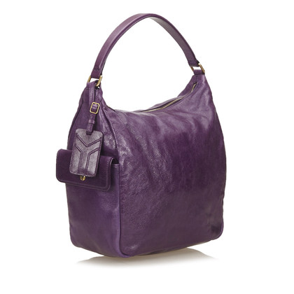Yves Saint Laurent Leren Hobo tas