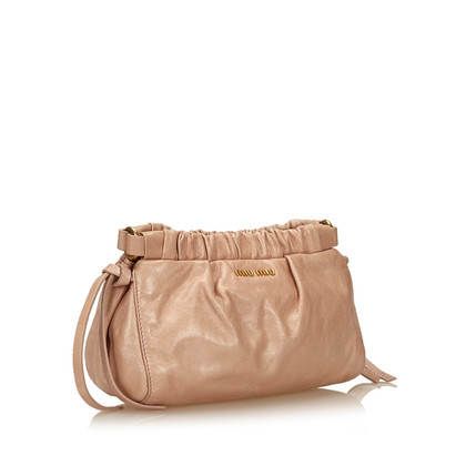 Miu Miu Mini gesammelt Cross Body Bag