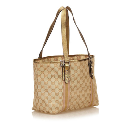 Gucci GG Pattern Tote Bag