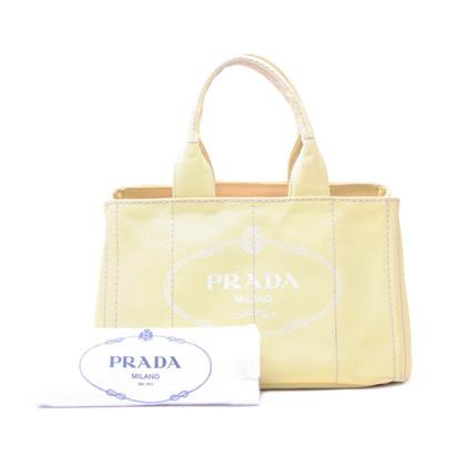 Prada Neon Canapa Handbag