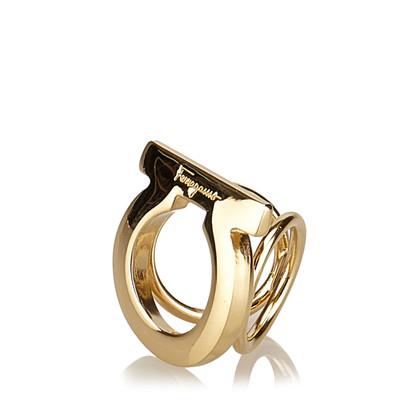 Salvatore Ferragamo Gancini Schal Ring