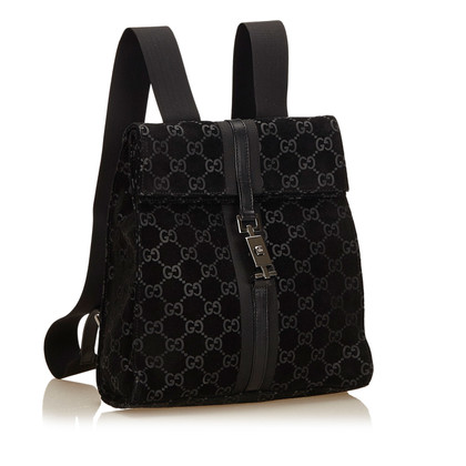 Gucci Jackie Model GG Pattern Backpack