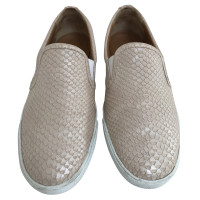 Jimmy Choo Slippers in reptile leather look