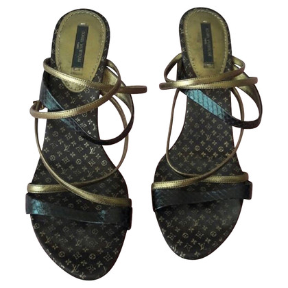 Louis Vuitton Sandalen aus Reptilleder
