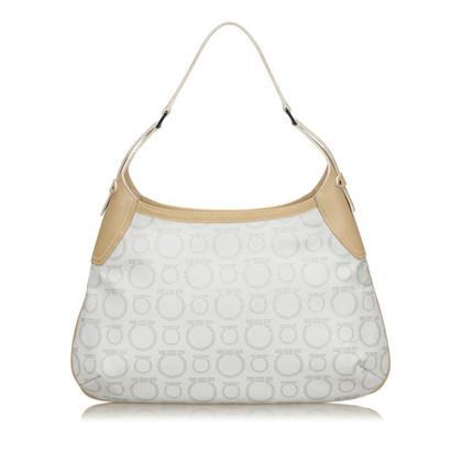 Salvatore Ferragamo PVC Gancini Shoulder Bag